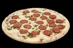 zgłębia marznącą pizzę - Zdjęcia Royalty Free