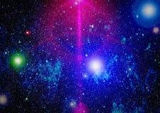 Zgłębia przestrzeń Wysoki definici gwiazdowego pola tło Gwiaździsta kosmosu tła tekstura Kolorowy Gwiaździsty nocne niebo kosmos Obrazy Stock
