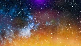 Zgłębia przestrzeń Wysoki definici gwiazdowego pola tło Gwiaździsta kosmosu tła tekstura Kolorowy Gwiaździsty nocne niebo kosmos Fotografia Stock