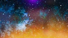 Zgłębia przestrzeń Wysoki definici gwiazdowego pola tło Gwiaździsta kosmosu tła tekstura Kolorowy Gwiaździsty nocne niebo kosmos Zdjęcia Royalty Free