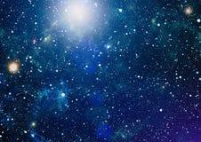 Zgłębia przestrzeń Wysoki definici gwiazdowego pola tło Gwiaździsta kosmosu tła tekstura Kolorowy Gwiaździsty nocne niebo kosmos Fotografia Royalty Free