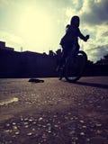 Zgłębia roweru draiver zdjęcia royalty free