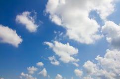 Zgłębia w niebo Obrazy Royalty Free