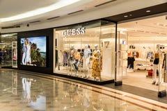 Zgadywa ujście przy KLCC zakupy centrum handlowym, Kuala Lumpur Obraz Stock