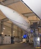Zgoda - francuza naddźwiękowy pasażerski samolot w M Obrazy Royalty Free