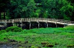 Zgoda, MA: Stary północ most Obrazy Royalty Free