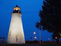 Zgoda punktu latarnia morska Zdjęcia Royalty Free