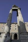 zgody forum romanum świątynia Zdjęcie Royalty Free