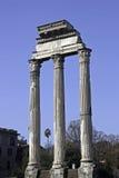 zgody forum romanum świątynia Zdjęcia Stock