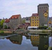 Zgorzelec, Πολωνία Στοκ φωτογραφία με δικαίωμα ελεύθερης χρήσης