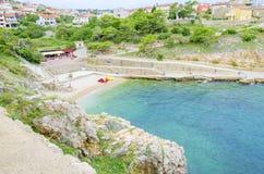 Free Zgribnica Beach, Vrbnik, Krk, Croatia Stock Images - 80743794