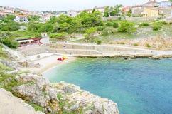 Free Zgribnica Beach, Vrbnik, Krk, Croatia Stock Photography - 82165332