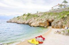 Zgribnica beach, Vrbnik, Krk, Croatia Royalty Free Stock Photo