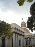 Zgromadzenia Narodowego Capitolio polityka Kongresowi delegaci W centrum Caracas Wenezuela Obrazy Royalty Free