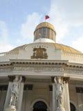 Zgromadzenia Narodowego Capitolio polityka Kongresowi delegaci W centrum Caracas Wenezuela Zdjęcia Royalty Free