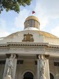 Zgromadzenia Narodowego Capitolio polityka Kongresowi delegaci W centrum Caracas Wenezuela Fotografia Royalty Free