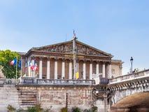 Zgromadzenie Narodowe pałac palais bourbon obrazy royalty free