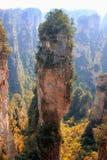 Zhāngjiājiè, China, Asia. Mountain Zhāngjiājiè Park, avatar, the nature of China, a UNESCO reserve stock photography