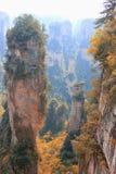 Zhāngjiājiè, China, Asia. Mountain Zhāngjiājiè Park, avatar, the nature of China, a UNESCO reserve stock image