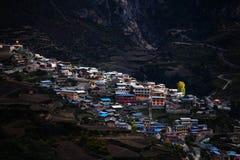 Zhagana风景在Gannan,中国` s甘肃 免版税图库摄影