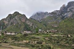 ZhaGaNa Dorf Lizenzfreies Stockfoto