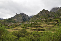 ZhaGaNa village Stock Image