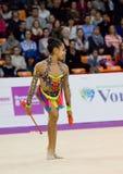 Zhala Piriyeva, clubs azerbaijan Royalty-vrije Stock Afbeelding
