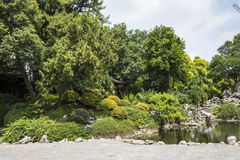 Zhan Garden scenery Stock Images