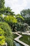 Zhan Garden scenery stock image
