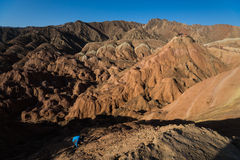 Zhang Danxia landform Royalty Free Stock Images