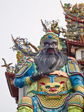 Zhang Fei statue Royalty Free Stock Images