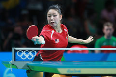 ZHANG Lily at the Olympic Games in Rio 2016. Royalty Free Stock Photo