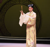 "Zhang Sheng -Kunqu Opera ""the West Chamber"" Royalty Free Stock Image"