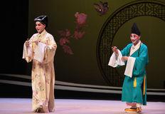 "Zhang Sheng and monk-Kunqu Opera ""the West Chamber"" Royalty Free Stock Image"