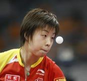Zhang Yining_2 stock afbeelding