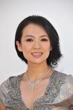 zhang ziyi Royaltyfri Fotografi