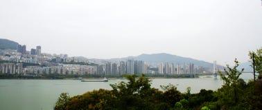zhangfei寺庙风景  免版税图库摄影
