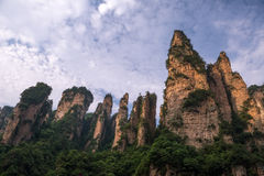 Zhangjiajie национальный Forest Park, Китай Стоковые Фото