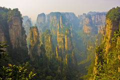 Zhangjiajie. National Geopark  of hunan province in china Royalty Free Stock Photography
