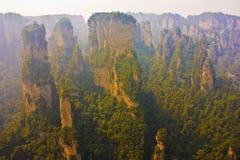 Zhangjiajie Fotografia Stock Libera da Diritti