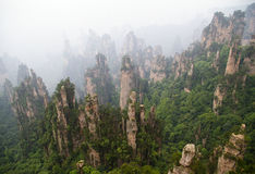 ZhangJiaJie, 1st national forest park in China Royalty Free Stock Photography