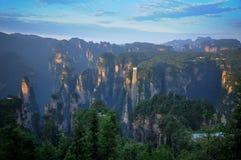 Zhangjiajie Fotografia Stock