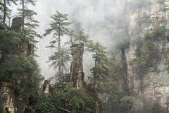 Zhangjiajie stockbilder