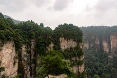 Zhangjiajie Fotografering för Bildbyråer