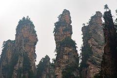 Zhangjiajie Royalty-vrije Stock Afbeelding