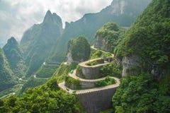 Zhangjiajie Fotografie Stock Libere da Diritti