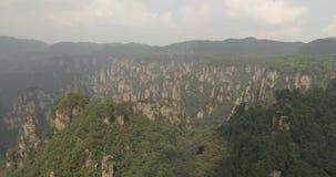 Zhangjiajie Aerial Scenery in China stock video
