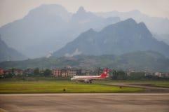 Zhangjiajie Airport Stock Photo