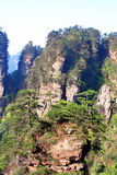 Zhangjiajie ancient mountains. Royalty Free Stock Image