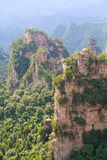 Zhangjiajie ancient mountains Royalty Free Stock Image